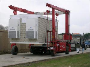 SL25 cargando fuente de telecomunicaciones